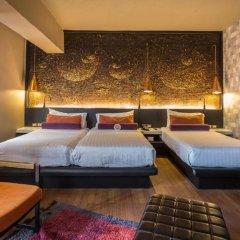 Siam@Siam Design Hotel Bangkok 4* Семейный номер Делюкс с двуспальной кроватью фото 8