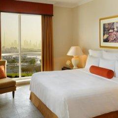 Апартаменты Marriott Executive Apartments Dubai Creek комната для гостей