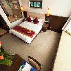 The Hanoi Club Hotel & Lake Palais Residences 4* Улучшенный номер двуспальная кровать фото 7