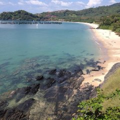 Отель Kantiang Guest House пляж