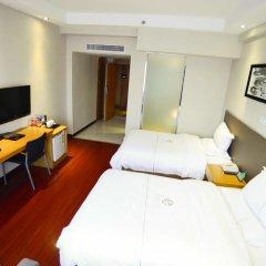 Отель Insail Hotels Railway Station Guangzhou 3* Стандартный номер с различными типами кроватей