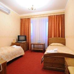 Отель Лермонтов Омск комната для гостей фото 6