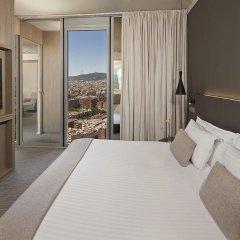 Отель Meliá Barcelona Sky 4* Стандартный номер с различными типами кроватей