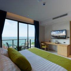 Отель Deep Blue Z10 Pattaya Стандартный номер с различными типами кроватей фото 14