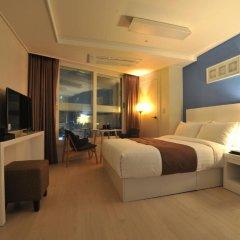 Hotel The Mark Haeundae 3* Стандартный номер с различными типами кроватей фото 3