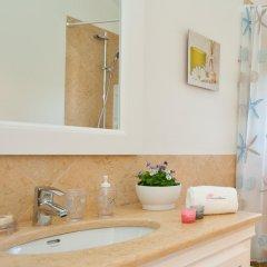 Отель Akivillas Olhos de Agua IV Португалия, Албуфейра - отзывы, цены и фото номеров - забронировать отель Akivillas Olhos de Agua IV онлайн ванная фото 2