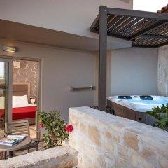 Отель Happy Cretan Suites Полулюкс с различными типами кроватей