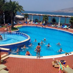 Отель Dodona Албания, Саранда - отзывы, цены и фото номеров - забронировать отель Dodona онлайн бассейн