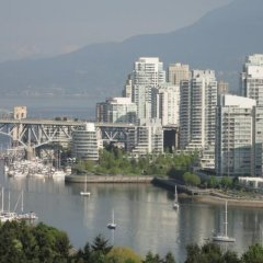 Отель Holiday Inn Vancouver Centre Канада, Ванкувер - отзывы, цены и фото номеров - забронировать отель Holiday Inn Vancouver Centre онлайн приотельная территория фото 2