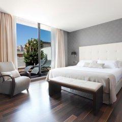 Отель Aparthotel Mariano Cubi Barcelona 4* Номер категории Премиум с различными типами кроватей