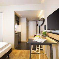 Отель Adagio access München City Olympiapark 3* Студия с различными типами кроватей фото 6