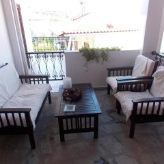 Отель Elsa Apartments Греция, Пефкохори - отзывы, цены и фото номеров - забронировать отель Elsa Apartments онлайн балкон