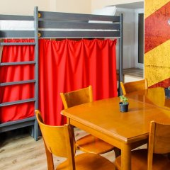 Hogwarts Hostel Кровать в общем номере с двухъярусной кроватью фото 7