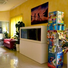 Отель Residence Beach Paradise Римини интерьер отеля фото 2