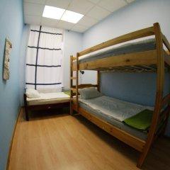 Fantomas Hostel Номер Эконом разные типы кроватей фото 6