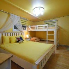 Отель Han River Guesthouse 2* Семейная студия с двуспальной кроватью фото 30