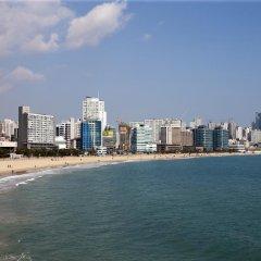 Отель Citadines Haeundae Busan пляж фото 2
