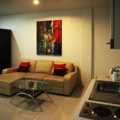 Апартаменты Naiharn Beach Road Apartment Студия Делюкс с различными типами кроватей фото 6