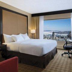 Отель Hilton Québec Канада, Квебек - отзывы, цены и фото номеров - забронировать отель Hilton Québec онлайн комната для гостей фото 5