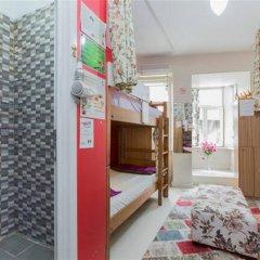 Хостел Istanbul Taksim Green House Кровать в женском общем номере с двухъярусной кроватью фото 7