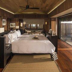 Отель Conrad Bora Bora Nui 5* Вилла с различными типами кроватей