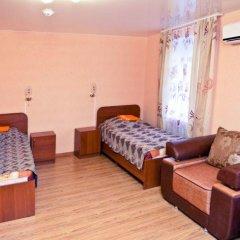 Гостиница Волгоградская Семейный полулюкс с двуспальной кроватью фото 3
