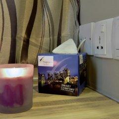 Отель Ibis Budget Singapore Crystal 2* Улучшенный семейный номер с различными типами кроватей фото 2