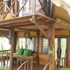 Отель Balangan Sea View Bungalow 3* Стандартный семейный номер с двуспальной кроватью фото 8