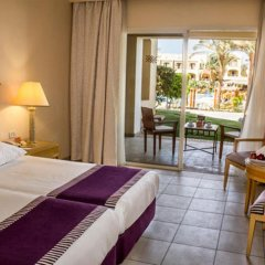 Отель Jaz Makadi Star & Spa 5* Улучшенный номер с различными типами кроватей фото 4