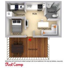 Отель First Camp Malmo 3* Коттедж фото 10
