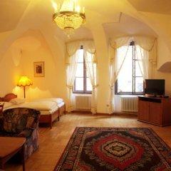 Отель U Cerneho Medveda- At The Black Bear Апартаменты с различными типами кроватей фото 17