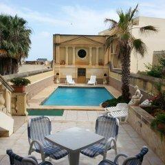 Отель Villa Palma Мальта, Саннат - отзывы, цены и фото номеров - забронировать отель Villa Palma онлайн бассейн
