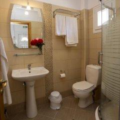 Отель Mythos Bungalows ванная