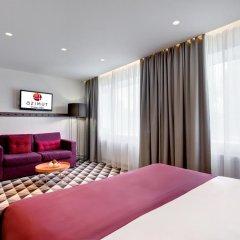 Азимут Отель Уфа 4* Стандартный номер с 2 отдельными кроватями фото 9