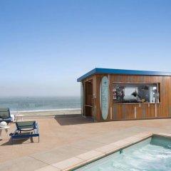 Отель Dream Inn Santa Cruz пляж