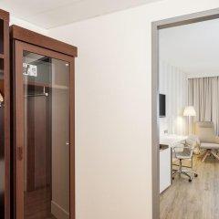 Hotel NH Düsseldorf City Nord 4* Стандартный номер разные типы кроватей фото 9