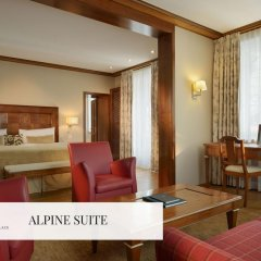Отель Mont Cervin Palace 5* Люкс с различными типами кроватей фото 2