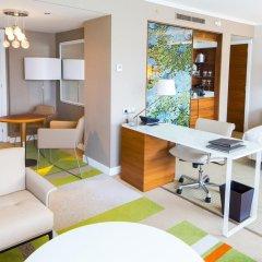 Отель Hilton Barcelona 4* Представительский люкс с различными типами кроватей фото 6