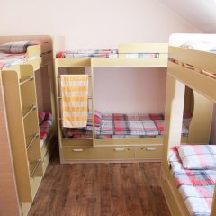 Гостиница Almaty Backpackers Кровать в общем номере с двухъярусной кроватью фото 3