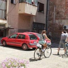 Bicycle Belgrade Hostel Белград парковка