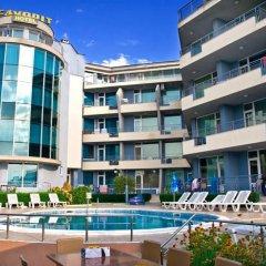 Отель Favorite Apartment Sunny Beach Болгария, Солнечный берег - отзывы, цены и фото номеров - забронировать отель Favorite Apartment Sunny Beach онлайн бассейн