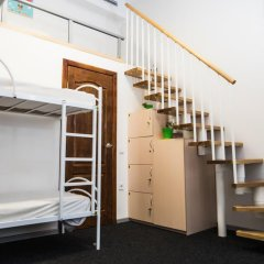 Hostel N1 Кровать в мужском общем номере двухъярусные кровати фото 2