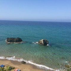 Отель Corfu Glyfada Menigos Resort пляж фото 2