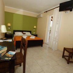 Corfu Perros Hotel комната для гостей фото 3