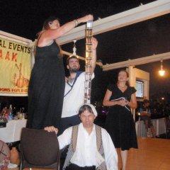 Отель Polyxenia Isaak Pelagos Villa гостиничный бар