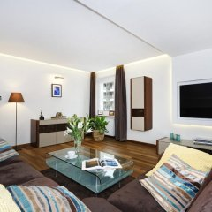 Апартаменты ASKI New Powisle Apartment комната для гостей фото 2