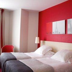 Отель Hôtel Le Richemont 3* Стандартный номер с двуспальной кроватью фото 12