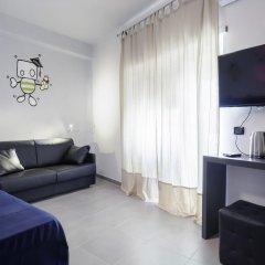 Отель Affittacamere Tiburstation 2 4* Стандартный номер с различными типами кроватей
