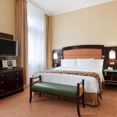 Гостиница Hilton Москва Ленинградская 5* Номер Делюкс с различными типами кроватей фото 9