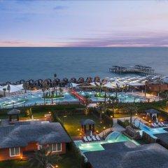 Отель Kaya Palazzo Golf Resort пляж фото 3